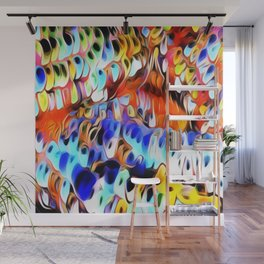 Popped Jellybeans Wall Mural