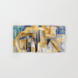 Pablo Picasso Houses on a Hill Hand & Bath Towel