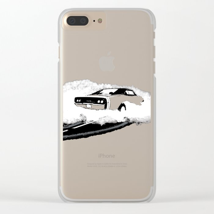 Charger R/T (Reverse) Clear iPhone Case