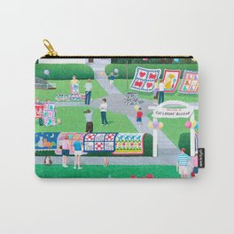 Cat Lovers Bazaar Carry-All Pouch