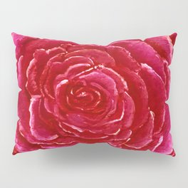 Red Rose Pillow Sham