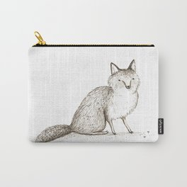 Swift Fox Sketch Carry-All Pouch