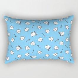 Teeth family Rectangular Pillow