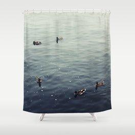 Untitled (Lake Michigan) Shower Curtain