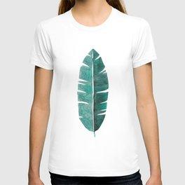Banana Leaf Watercolor T-shirt