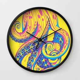 Curls Wall Clock