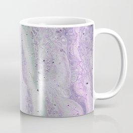 purple and white Coffee Mug