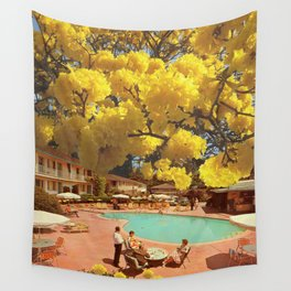 Hot town, summer in the city Wall Tapestry