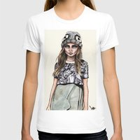 ben giles T-shirts featuring Cara for Giles 14/15 by vooce & kat
