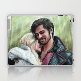 A Quiet Moment In Camelot Laptop & iPad Skin