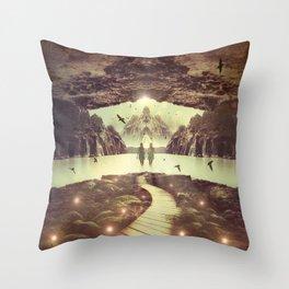 Nightly Retreat  Throw Pillow