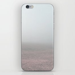 An instant of mystery iPhone Skin