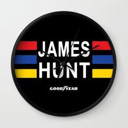 The Hunt lid Wall Clock