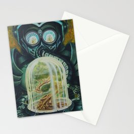 """""""Breathing"""" by Adam France Stationery Cards"""