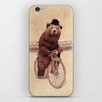 jazzberry iPhone & iPod Skins featuring Barnabus by Eric Fan