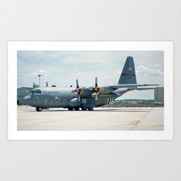 Lockheed C-130 Art Print