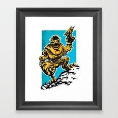 Roboman Framed Art Print