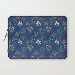 Dark Meadow Floral Laptop Sleeve