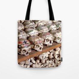 "Hallstatt, Austria Beinhaus ""Bone House"" Tote Bag"