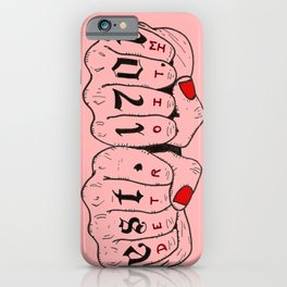 Detroit MI iPhone Case