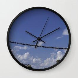 Iron and Stone Wall Clock