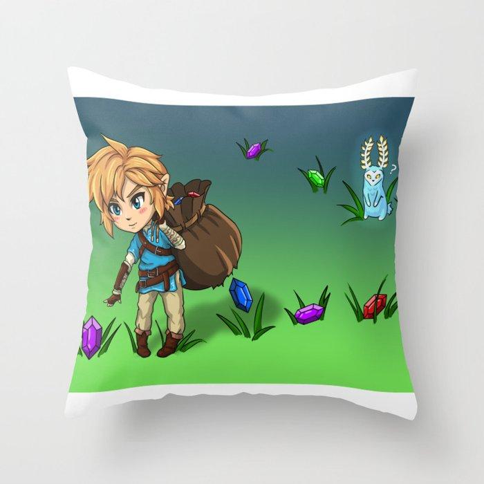 Rupee Collection CB Throw Pillow