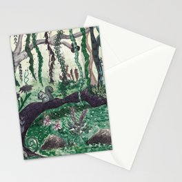 Forest / Bosque Stationery Cards