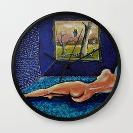 Homage to Velasquez Wall Clock