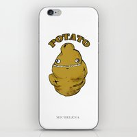 potato iPhone & iPod Skins featuring POTATO  by Michelena