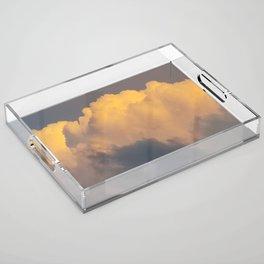 Walking on cloud 9 Acrylic Tray
