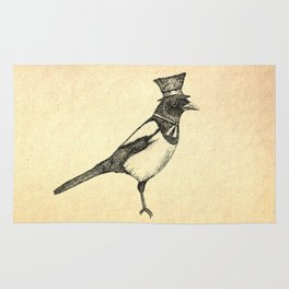 Hello Mister Magpie Rug