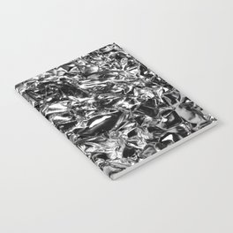 Striking Silver Notebook