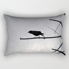 Out on a Limb  (Caw Me) Rectangular Pillow
