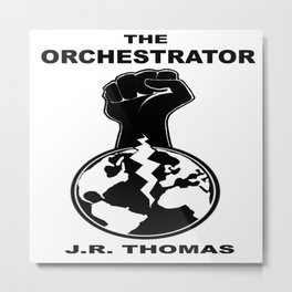 The Orchestrator cover Metal Print