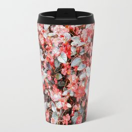 She Wore Red Flowers Travel Mug