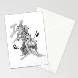 KungFu Zodiac - Horse and Goat Stationery Cards