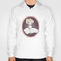 marylin monroe Hoodies featuring Sparkling Marylin by Zazie-bulles