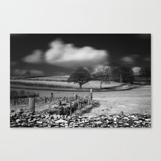 Cloud Wall Canvas Print