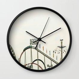 Funfair Duesseldorf Wall Clock
