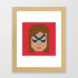 Ms.Marvel - Kamala Khan Framed Art Print