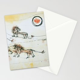 A Pride of Lions by Paul Klee, 1924 Stationery Cards