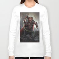 lion king Long Sleeve T-shirts featuring Lion King by Alexandrescu Paul