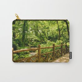 A Walk into the Forest (aka NYC Central Park) Carry-All Pouch
