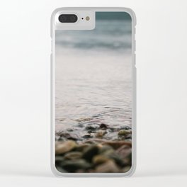 On The Water Clear iPhone Case