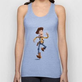 TOY STORY WOODY Unisex Tank Top