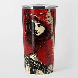 Here Comes the Red One Travel Mug