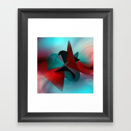 3 colors for a polynomail Framed Art Print