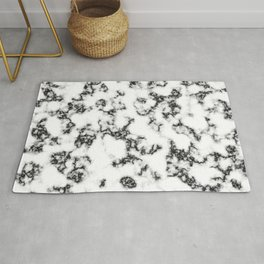 Squiggle Marble Rug