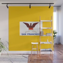 Flag of San Francisco Wall Mural
