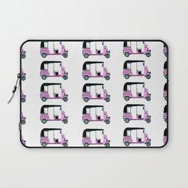 Pink tuktuk, fun design Laptop Sleeve